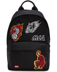 McQ - Sac a dos noir Patches Classic - Lyst