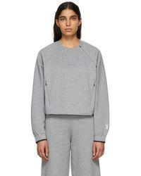 Nike - Grey Fleece City Ready Sweatshirt - Lyst