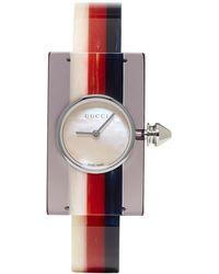 Gucci - Multicolor Plexiglass Vintage Web Watch - Lyst