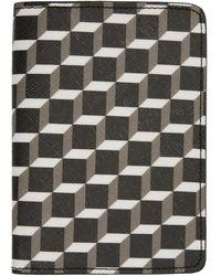 Pierre Hardy - Multicolour Canvas Cube Passport Holder - Lyst