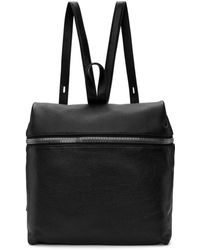 Kara - Black Large Leather Backpack - Lyst