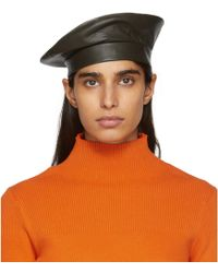 Etudes Studio - Green Clyde Edition Leather Beret - Lyst