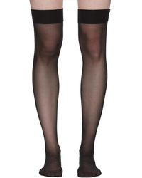 Wolford - Black Individuel 10 Stockings - Lyst
