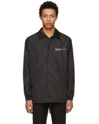 Valentino - Black Anywhen Coach Jacket - Lyst