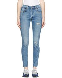 Levi's - Blue Altered 501 Skinny Jeans - Lyst