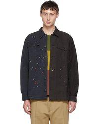 John Elliott - Black Distorted Military Shirt - Lyst