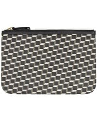 Pierre Hardy - Black And White Large Cube Pouch - Lyst