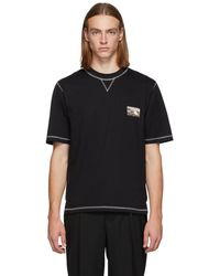 Lhomme Rouge - Black Climber T-shirt - Lyst