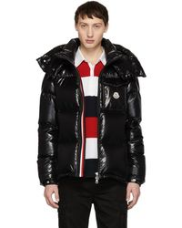 Moncler - Black Down Montbeliard Jacket - Lyst