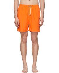Solid & Striped - Orange Classic Swim Shorts - Lyst