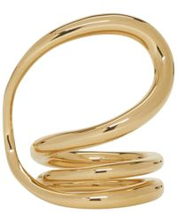 Charlotte Chesnais - Gold Round Trip Ring - Lyst