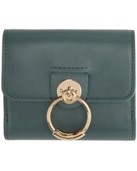 Chloé - Blue Small Tess Wallet - Lyst