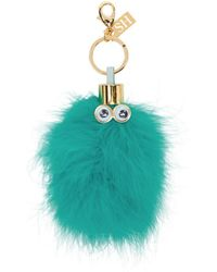 Sophie Hulme - Ssense Exclusive Blue Donna Keychain - Lyst