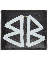 Balenciaga - Black Bazar Wallet - Lyst