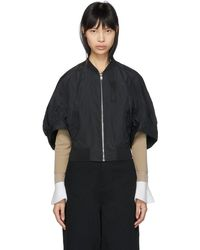 KUHO - Black Lecor Bomber Jacket - Lyst