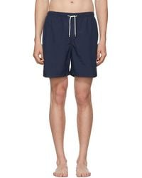 Solid & Striped - Navy Classic Swim Shorts - Lyst