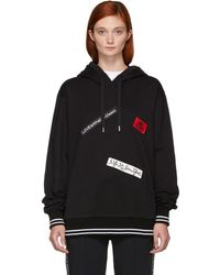 Dolce & Gabbana - Black Love What You Want Hoodie - Lyst