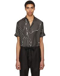 Haider Ackermann   Black Classic Gaspeite Shirt   Lyst