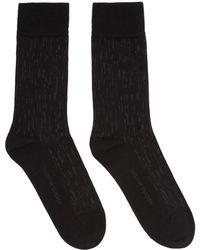 Tiger Of Sweden - Black Fanika Socks - Lyst