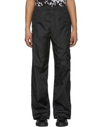 Givenchy - Black Nylon Jogging Trousers - Lyst