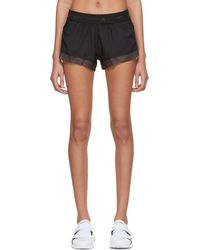 adidas By Stella McCartney - Black Run Adizero Shorts - Lyst
