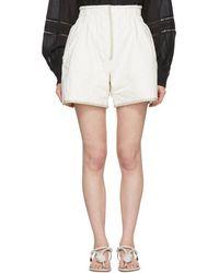 Isabel Marant - Off-white Esu Shorts - Lyst