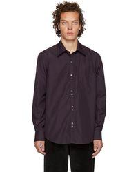 Cobra S.C. - Purple Double Button Shirt - Lyst