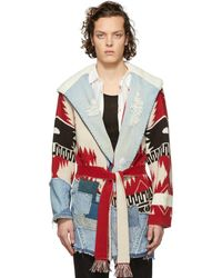 Alanui - Multicolor Greg Lauren Edition New Icon Coat - Lyst