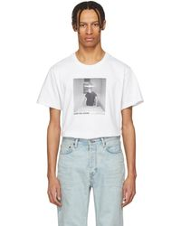 Helmut Lang - White Carrie Mae Weems Edition Untitled Woman Standing Alone 1990 T-shirt - Lyst