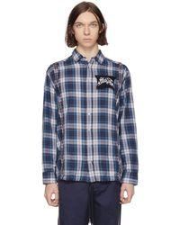 DIESEL   Blue S-easto Shirt   Lyst