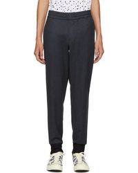 PS by Paul Smith - Navy Drawcord Trousers - Lyst