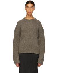 Totême  - Taupe Biella Sweater - Lyst