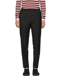 Acne | Black Ryder Trousers | Lyst