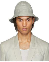 Rick Owens - Grey Giligan Hat - Lyst