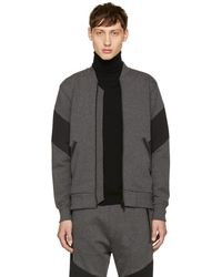 DIESEL - Grey S-mello Zip Jumper - Lyst
