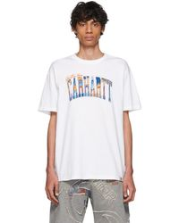 19fea505f Men's Carhartt WIP Short sleeve t-shirts On Sale - Lyst