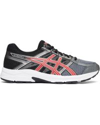 Asics - Black And Red Gel-contend 4 Trainers - Lyst