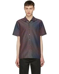 PS by Paul Smith - Purple Gingham Shirt - Lyst