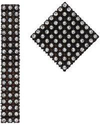 Christopher Kane - Black Diamond Mix Earrings - Lyst
