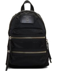 Marc Jacobs - Black Mini Biker Backpack - Lyst