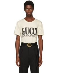 Gucci - Off-white Cities T-shirt - Lyst