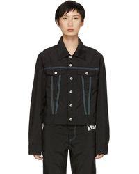 KANGHYUK - Black Nylon Airbag Jacket - Lyst
