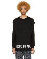 Hood By Air - Black Squared T-shirt - Lyst