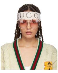Gucci - White Teban Vintage Headband - Lyst