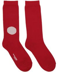 Blue Blue Japan - Chaussettes rouges Japan Flag - Lyst