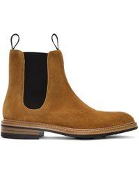 Rag & Bone - Tan Spencer Boots - Lyst
