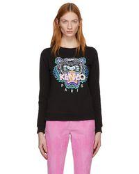 KENZO - Black Classic Tiger Sweatshirt - Lyst