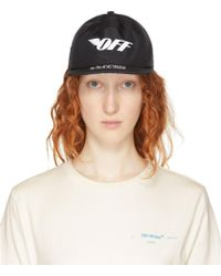 Off-White c/o Virgil Abloh - Black Gore-tex® Cap - Lyst
