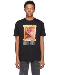DIESEL - Black T-just-xx T-shirt - Lyst