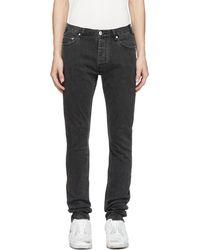 Han Kjobenhavn - Black Lean Fit Jeans - Lyst